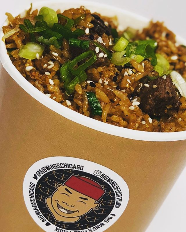We call this the festival killer, also known as STEAK FRIED RICE!  Black Angus NY strip, only the best for our festival goers.  Come out this weekend to the Southloop Food Truck Festival at 2400 S State and enjoy some Big Wang's.  If you can't wait, we'll be at Wacker and Adams today from 11am to 2pm. 🥡🔥🥢🥡🔥🥢🥩🥩🥩🥩🔥 . . . . . . #bigwanggang #chicagofoodtrucks #chicagolunch #bigwangs #foodtruck #chicagofood #chicagofoodies #chicagofoodgoals #chicagofoodmag #chicagofoodbloggers #chicagofoodies #chicagofoodtruckfestival #chinesefood #takeout #foodporn #chicagofoodauthority #chicagofoodmag #chicagofoodbloggers #chinesefood #312food #steak #foodtruckfestival