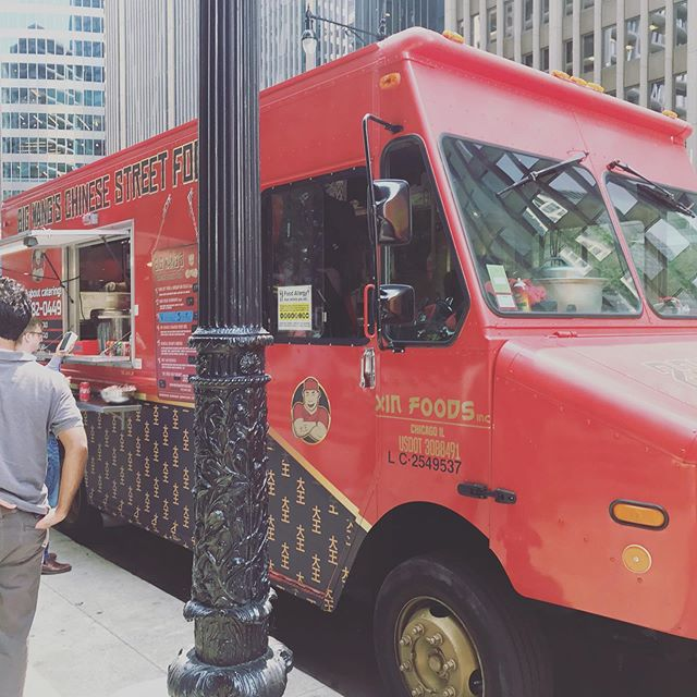 Wacker is booming with people today!  It's crowded but you'll still run into Big Wang's if you're lucky!  Shortened hours today, 11am- 1pm.  Then it's off to Ravinia tonight 5pm-9pm.  Live music and great food! 🥡🔥🥢🚚🥡🔥🥢🚚🍚 . . . . . . . #bigwanggang #chicagofoodtrucks #chicagolunch #bigwangs #foodtruck #chicagofood #chicagofoodies #chicagofoodgoals #chicagofoodmag #chicagofoodbloggers #chicagofoodies #chicagofoodtruckfestival #chinesefood #takeout #foodporn #chicagofoodauthority #chicagofoodmag #chicagofoodbloggers #chinesefood #312food #raviniafestival