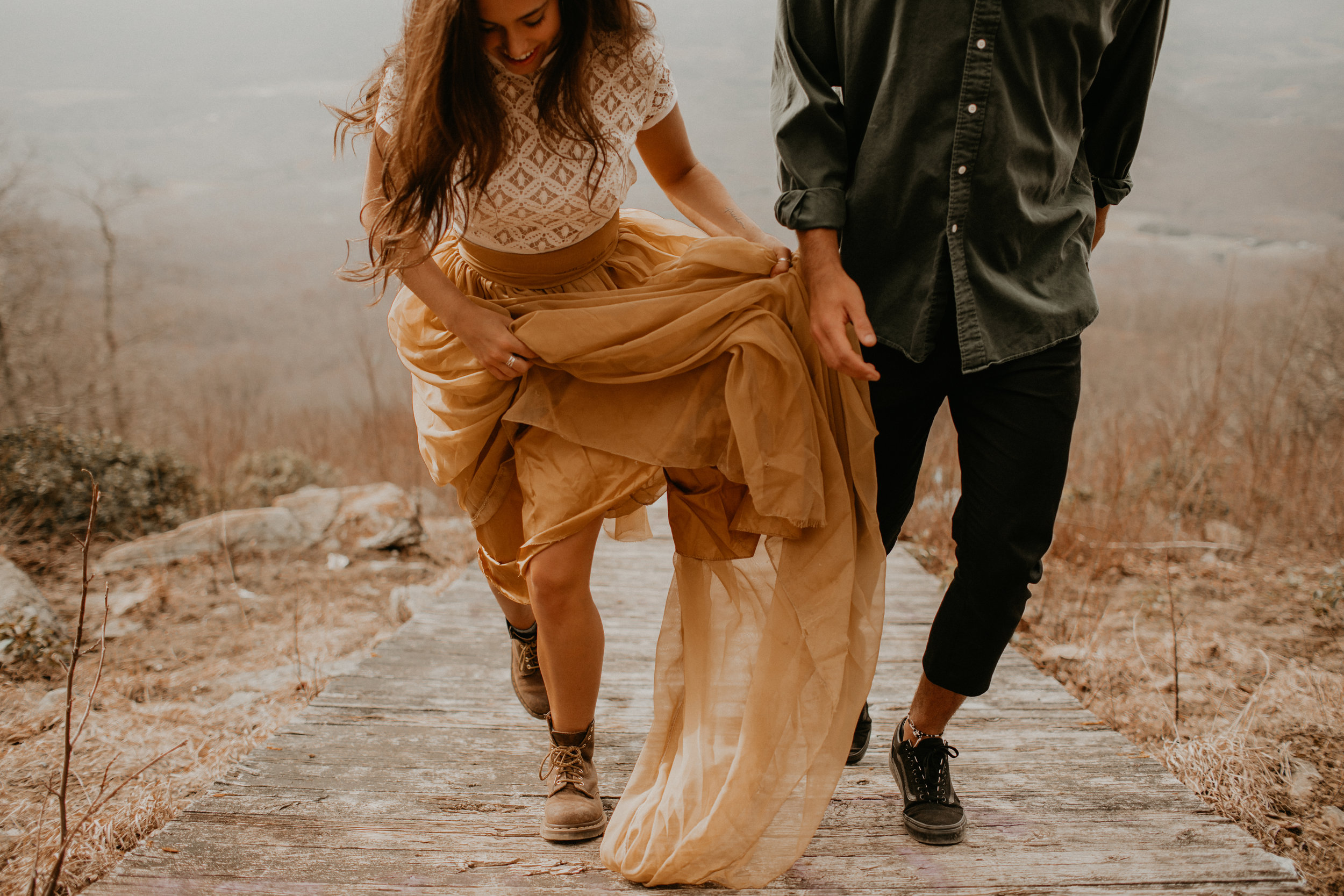 shenandoah national park elopement | claire + Nico