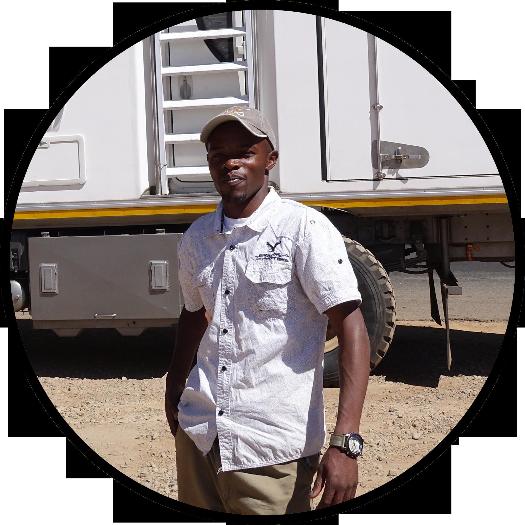 Peter Ndungu - Driver/Mechanic