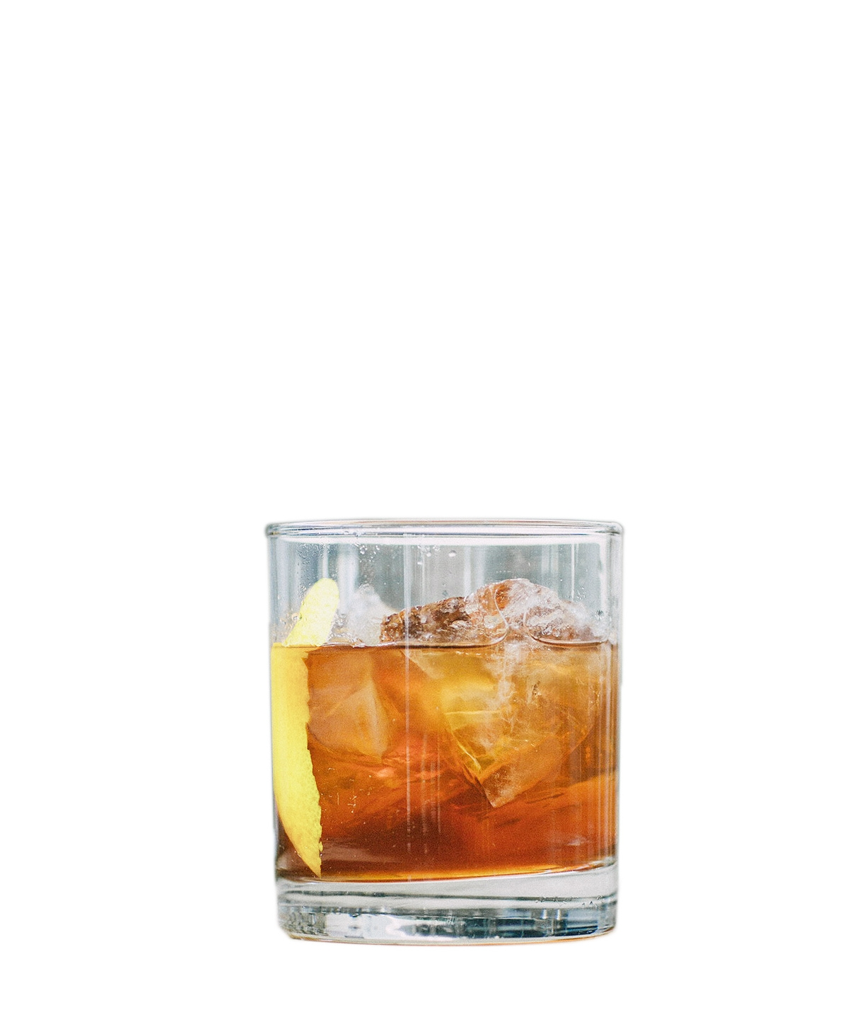 TORONTO  5ml Raw Simple Syrup* 10ml Norseman Fernet Amaro 60ml Norseman Aquavit  Build ingredients on ice in a low glass. Garnish with a lemon coin.  *Raw Simple Syrup: simmer two parts raw sugar to one part water stirring until clear.