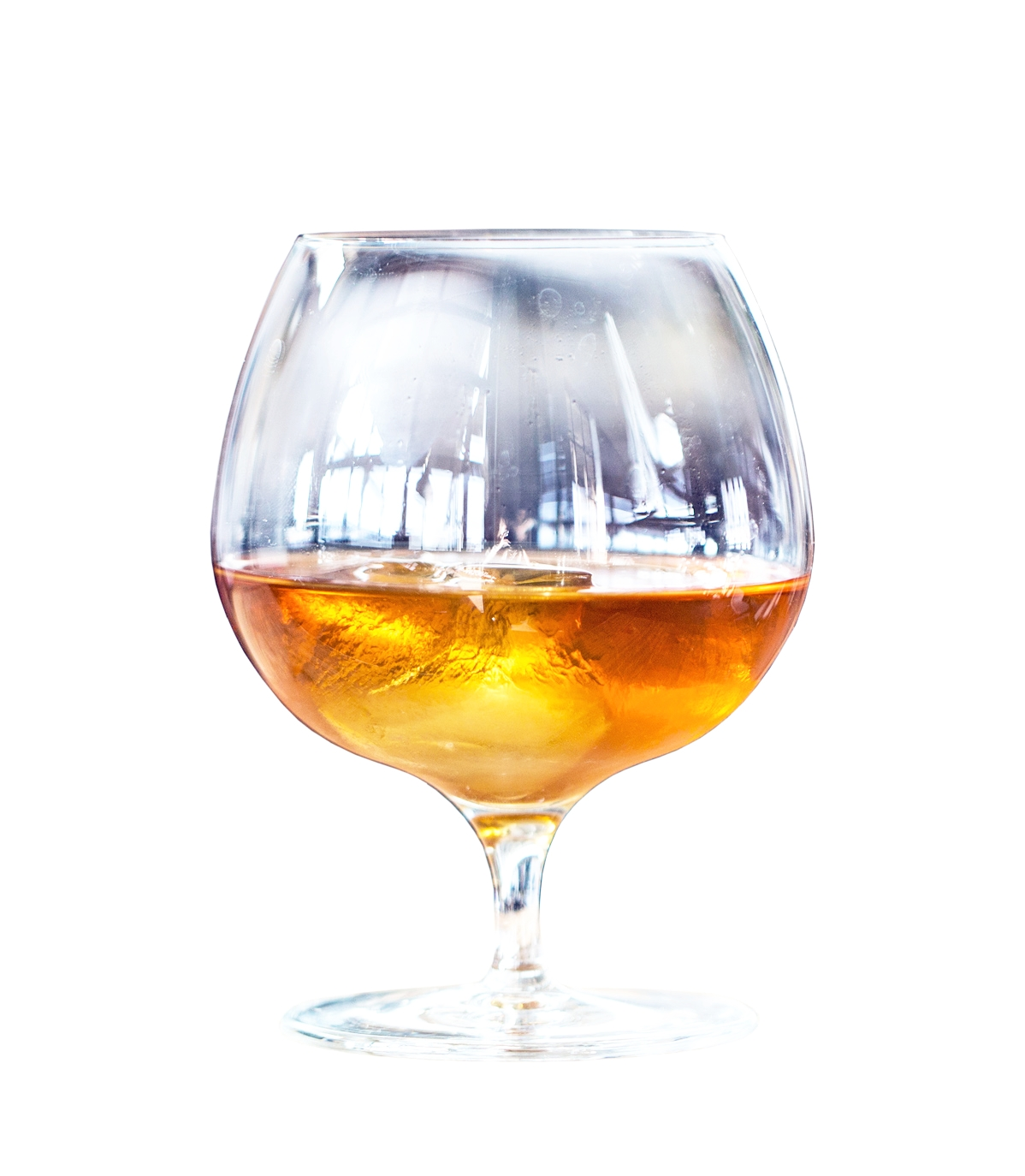 BANAN  60mL Norseman Pineapple Rum 20mL Sweet Vermouth 8mL Norseman Amaro Plantain 3mL Norseman Apricot Liqueur  Stir on ice and strain into a snifter glass. Float one large ice cube in glass.