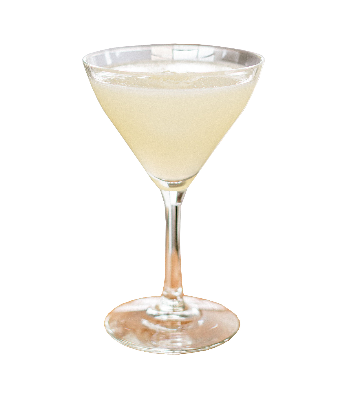 PINEAPPLE DAIQUIRI  15mL Simple Syrup 30mL Fresh Lime Juice  30mL Norseman Barrel-Aged Rum 40ml Norseman Pineapple Rum  Shake and strain into a coupe glass. Garnish with an ice cube.
