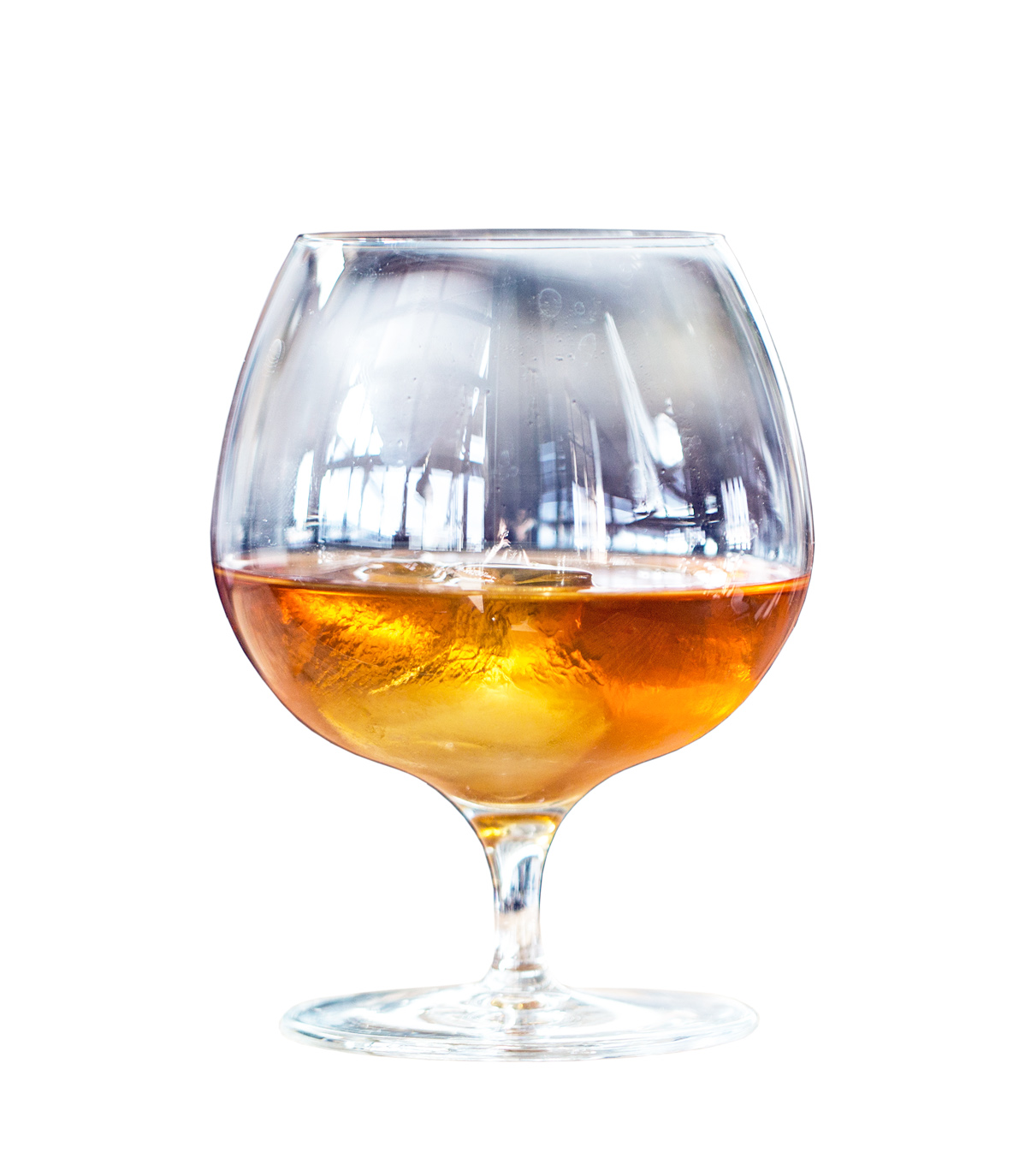 BANAN  3mL Norseman Apricot Liqueur 8mL Norseman Amaro Plantain 20mL Sweet Vermouth 60mL Norseman Pineapple Rum  Stir on ice and strain into a snifter glass. Float one large ice cube in glass.