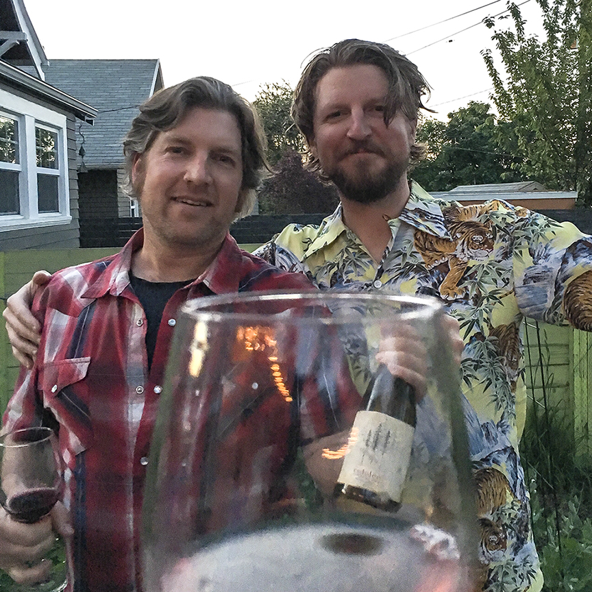 Redolent folks... - We love wine, we love to make, we love to share. This is where Redolent began and we hope to maintain that love of life as the adventure continues...Jon & Boyd