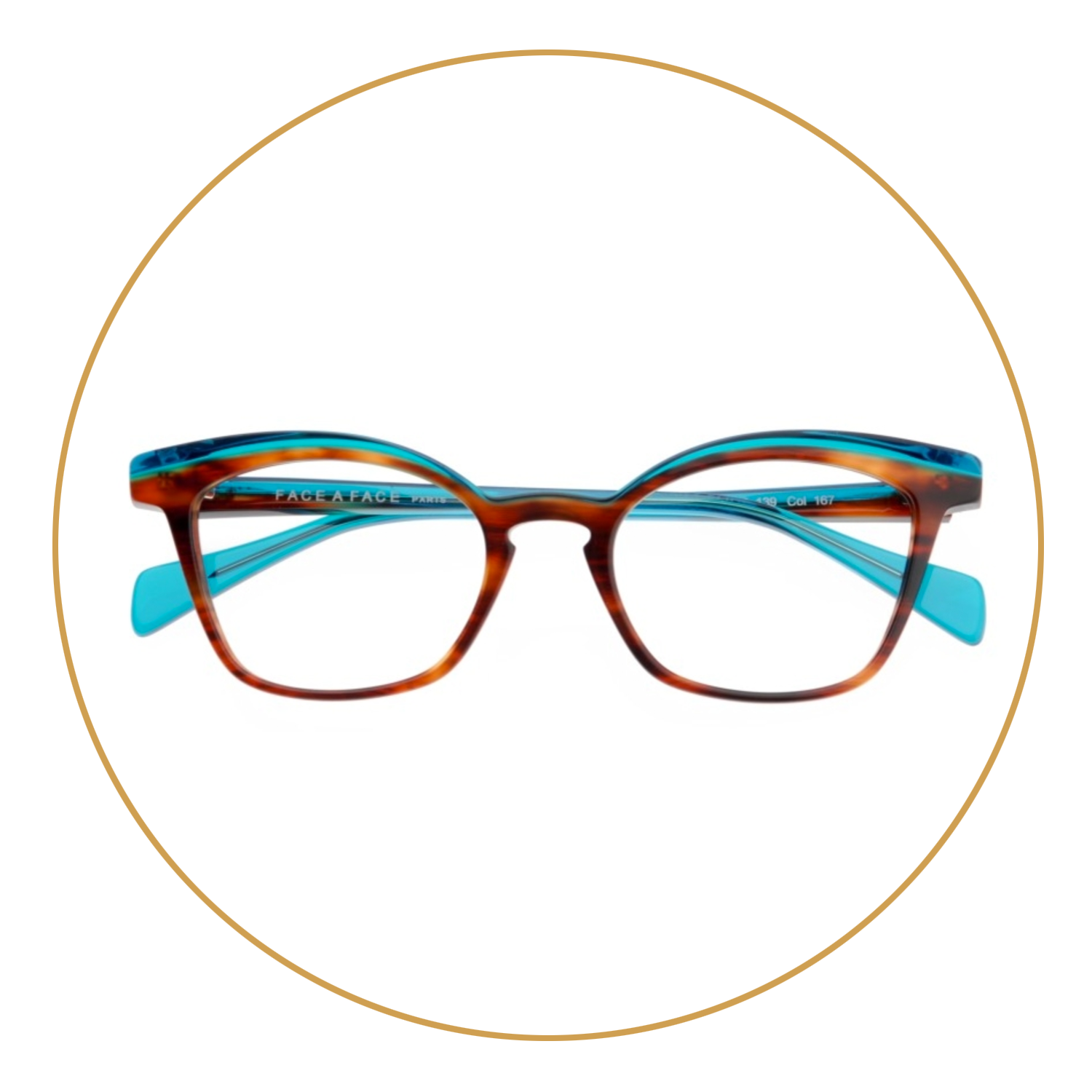 Tortoiseshell - While tortoiseshell patterns have been popular for years, the new trend is to really exaggerate the pattern on the frames and not hold back. Today's tortoiseshell frames can also bring in other colors including blue and aqua to really garner attention and showcase your eyes.