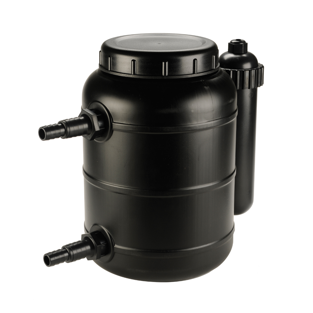 Complete Pressurized Pond Filter with UV Clarifier