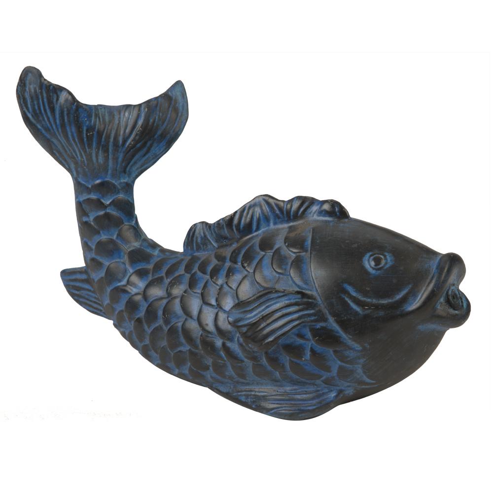 Blue Koi Spitter