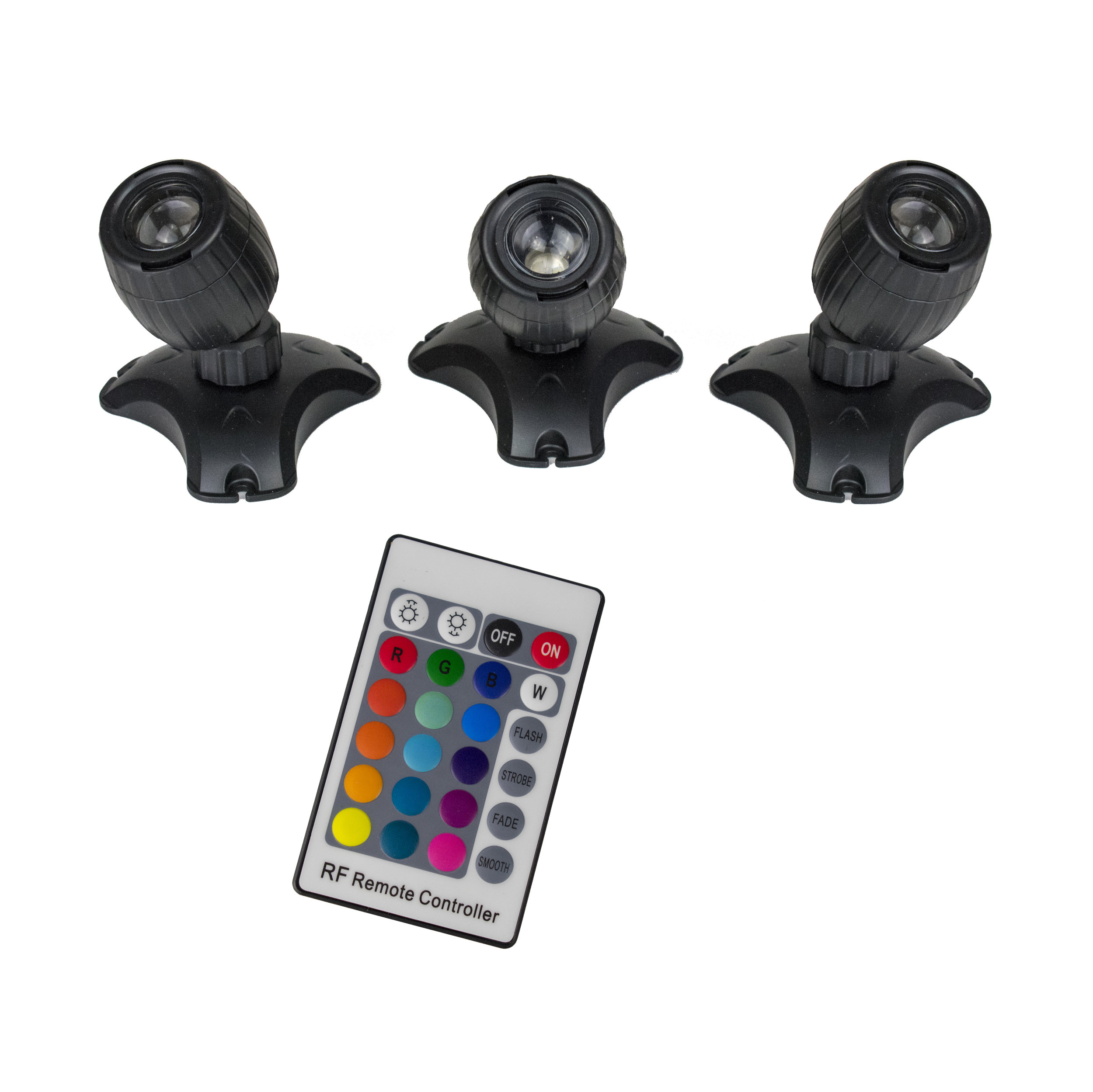 Color-Changing Light Set with Remote