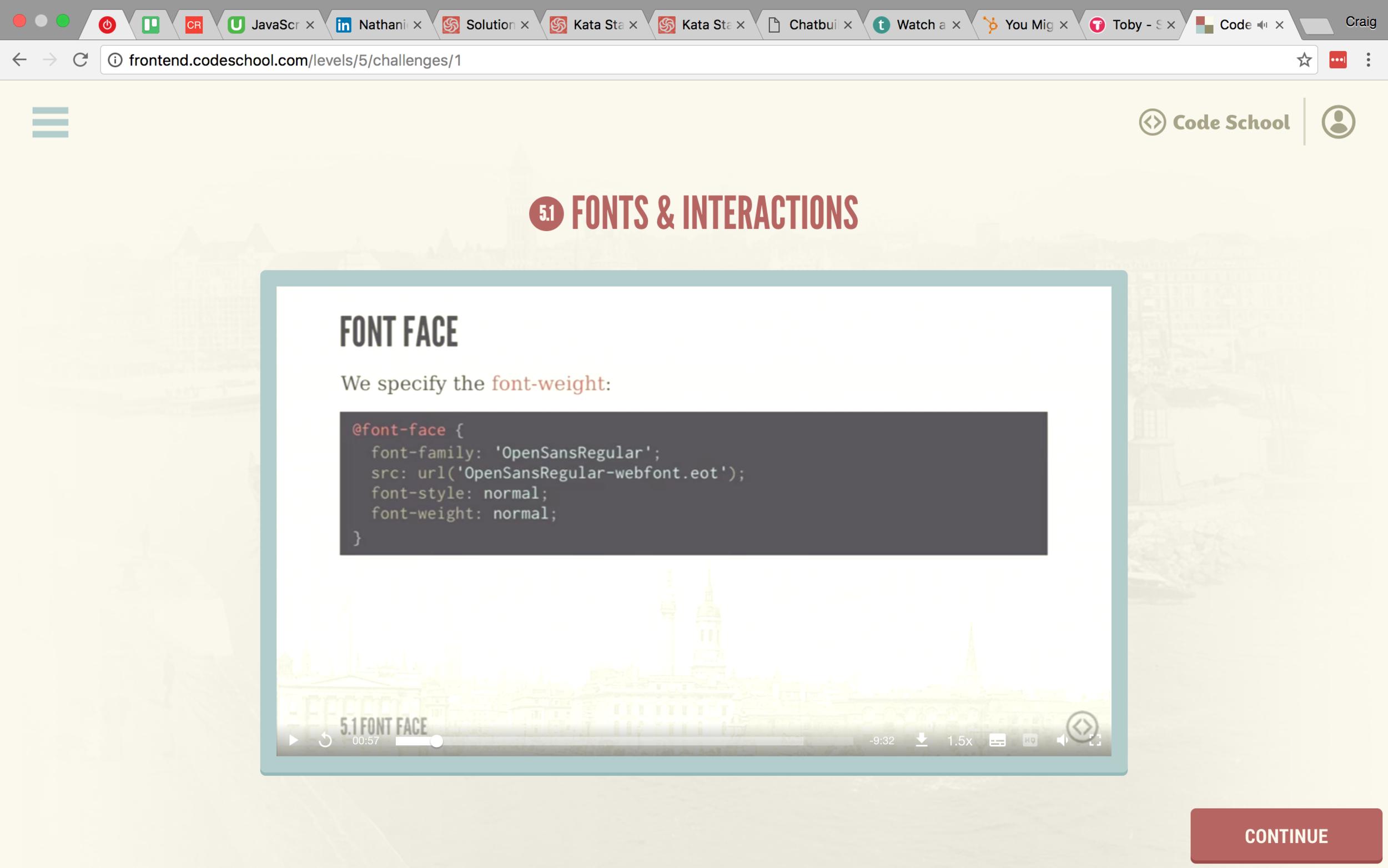 Font Face