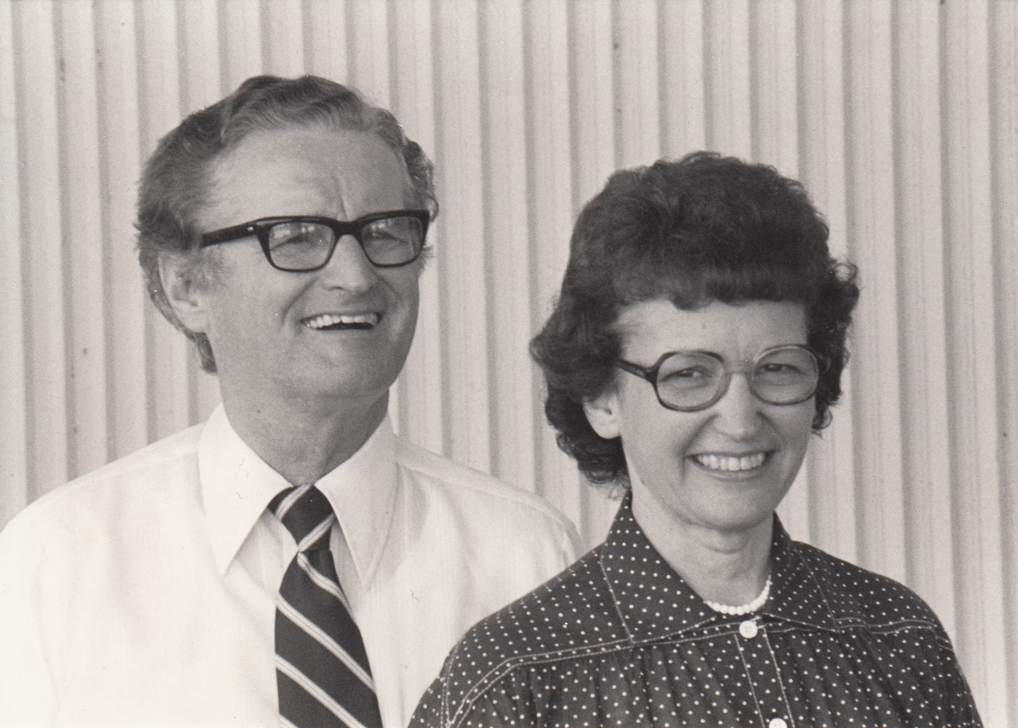Beverly and Maurice Stevens, founder of GO InterNational