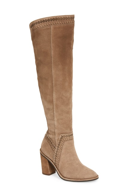 Vince Camuto - Madolee Over-the-Knee Boot - I mean, come on...who doesn't love a great over the knee boot? These have an elastic backing, so they do well with wider calves.