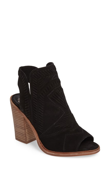 Vince Camuto - Karinta Block Heel Bootie - Great for end of summer/early fall transition.