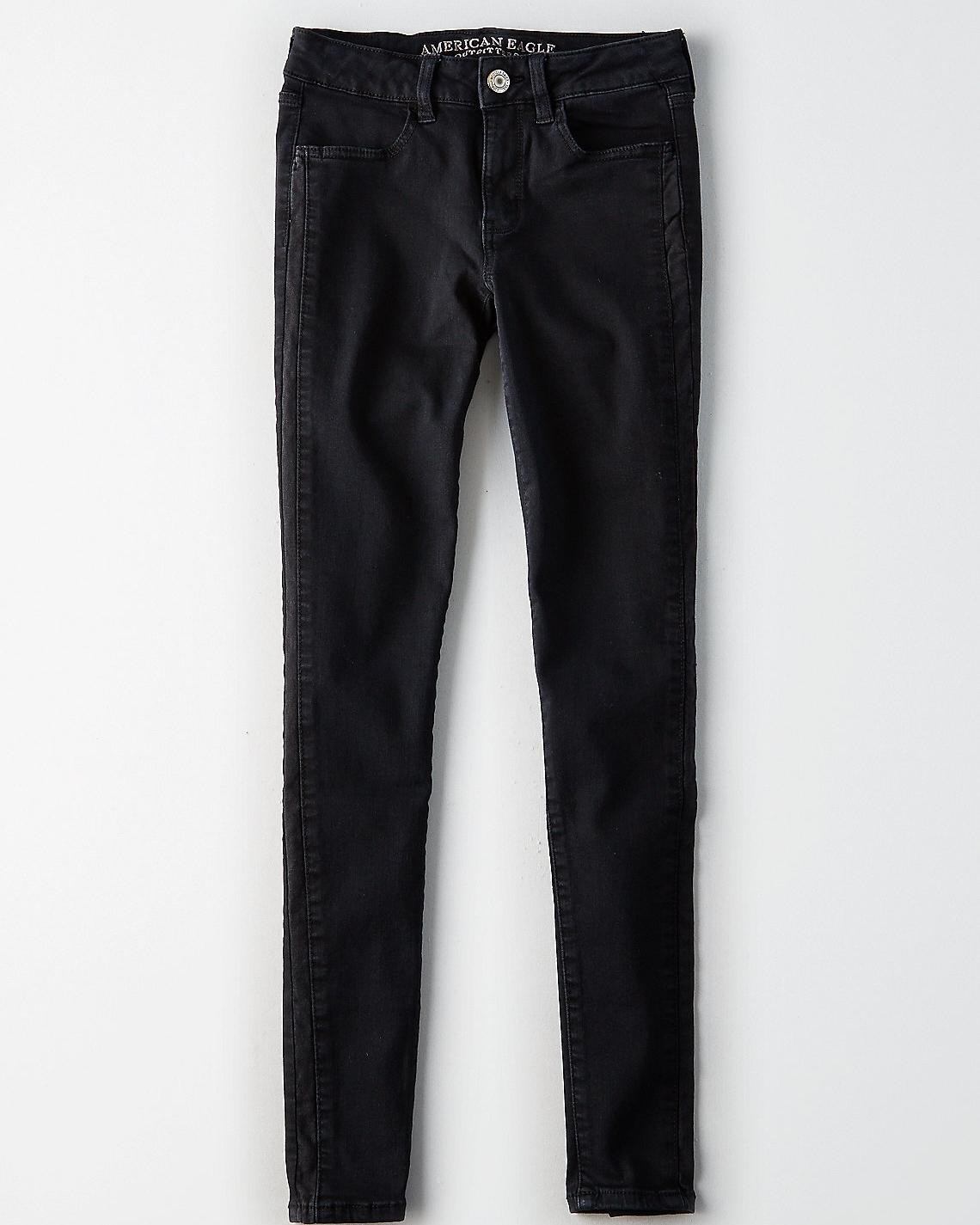 True Black Jeans