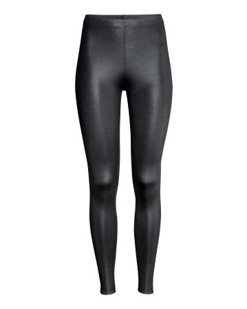 Glossy Black Leggings