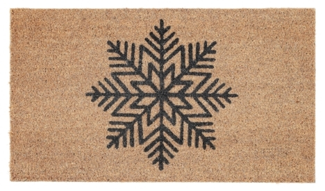 Dust off the snow with this lovely welcome mat - only $6