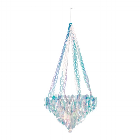 How fun is this?! $20 for this funky chandelier