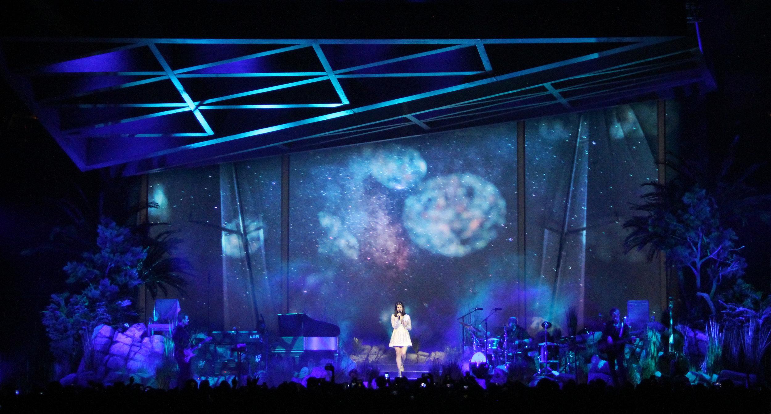 Lana Del Rey | Live Visual Content