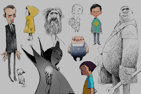 Portfolio - Character Design -