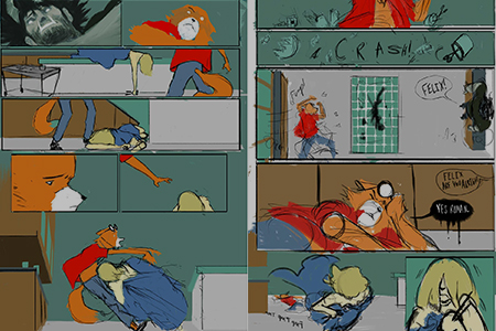 Comics Compositions -