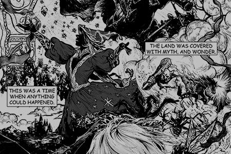 Portfolio - Manga & Comics -