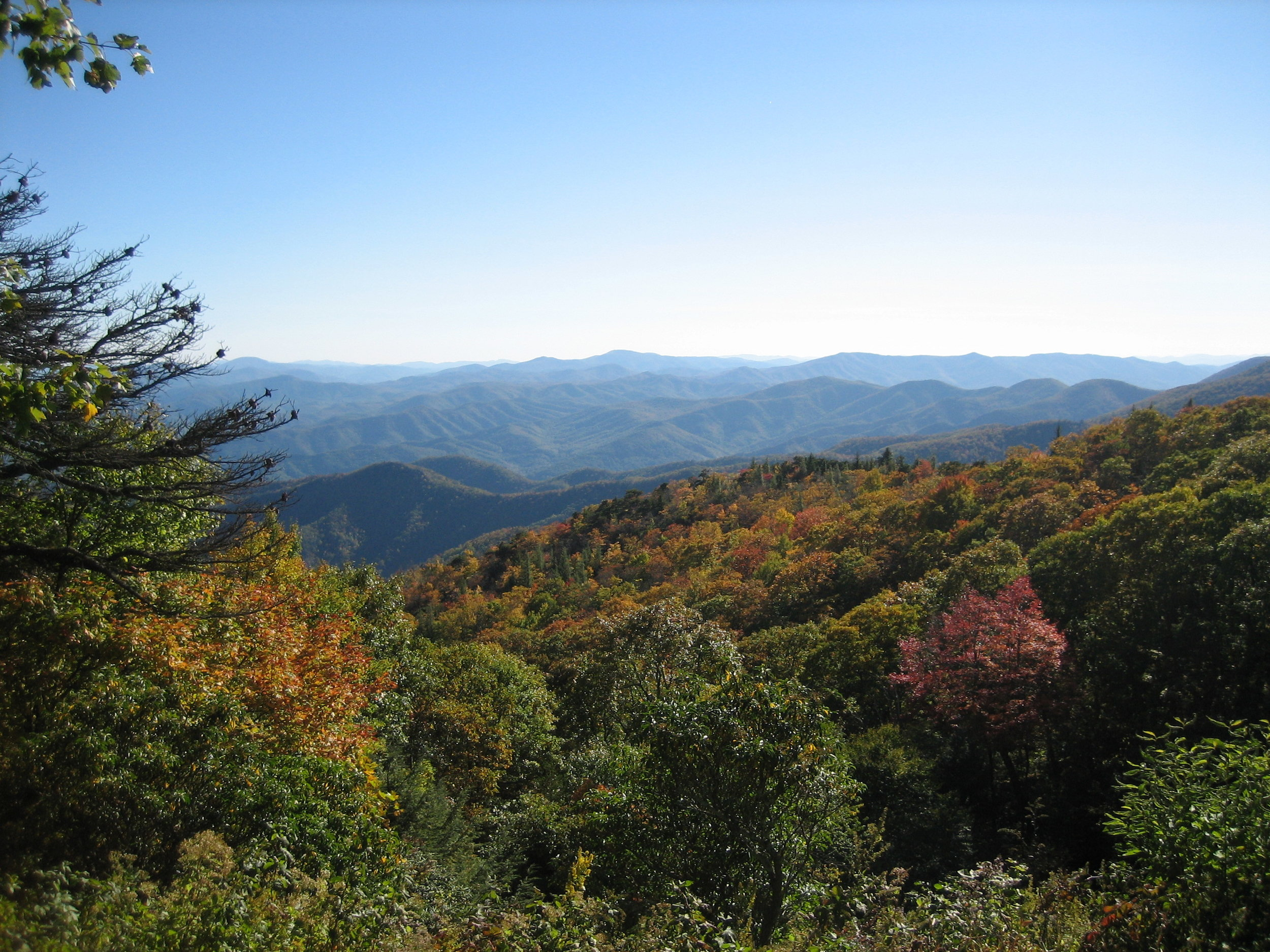 Blue Ridge Mountains, Asheville, NC