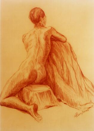 Back of a Dancer