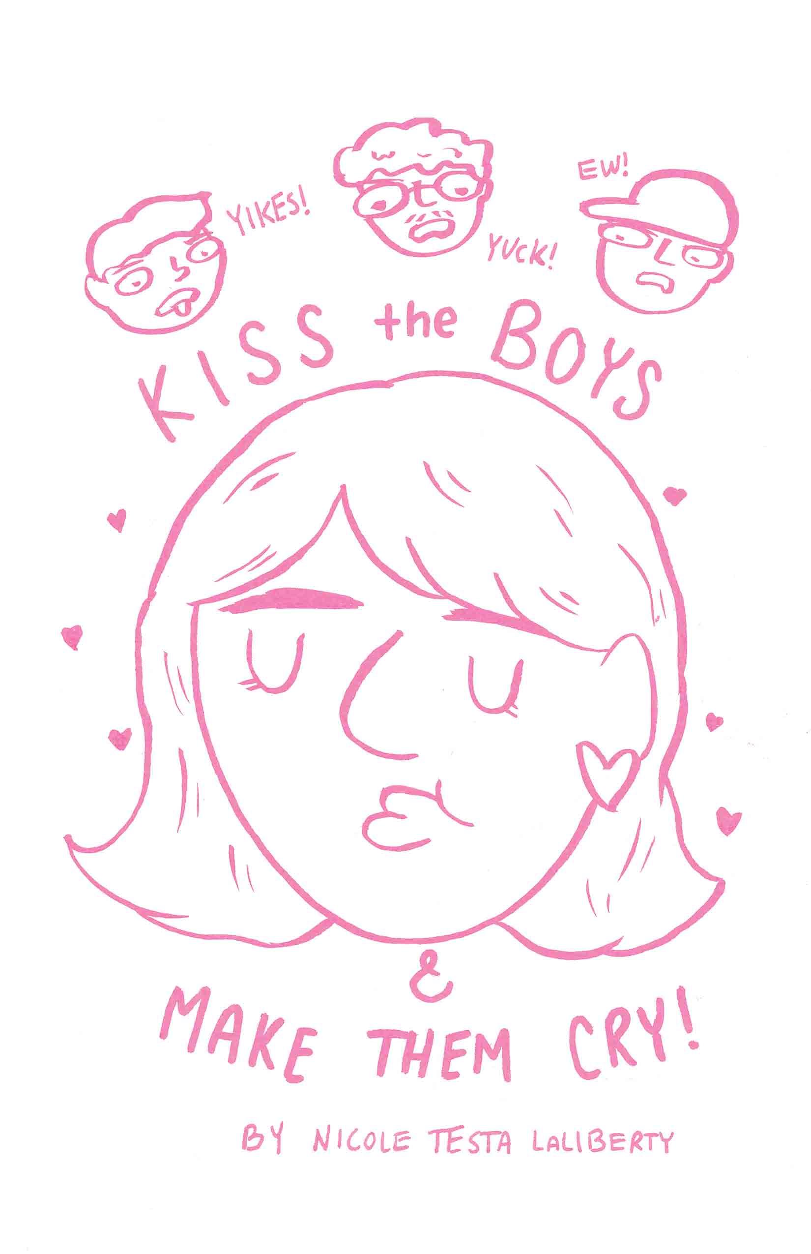 Kiss the Boys & Make Them Cry (Comic)