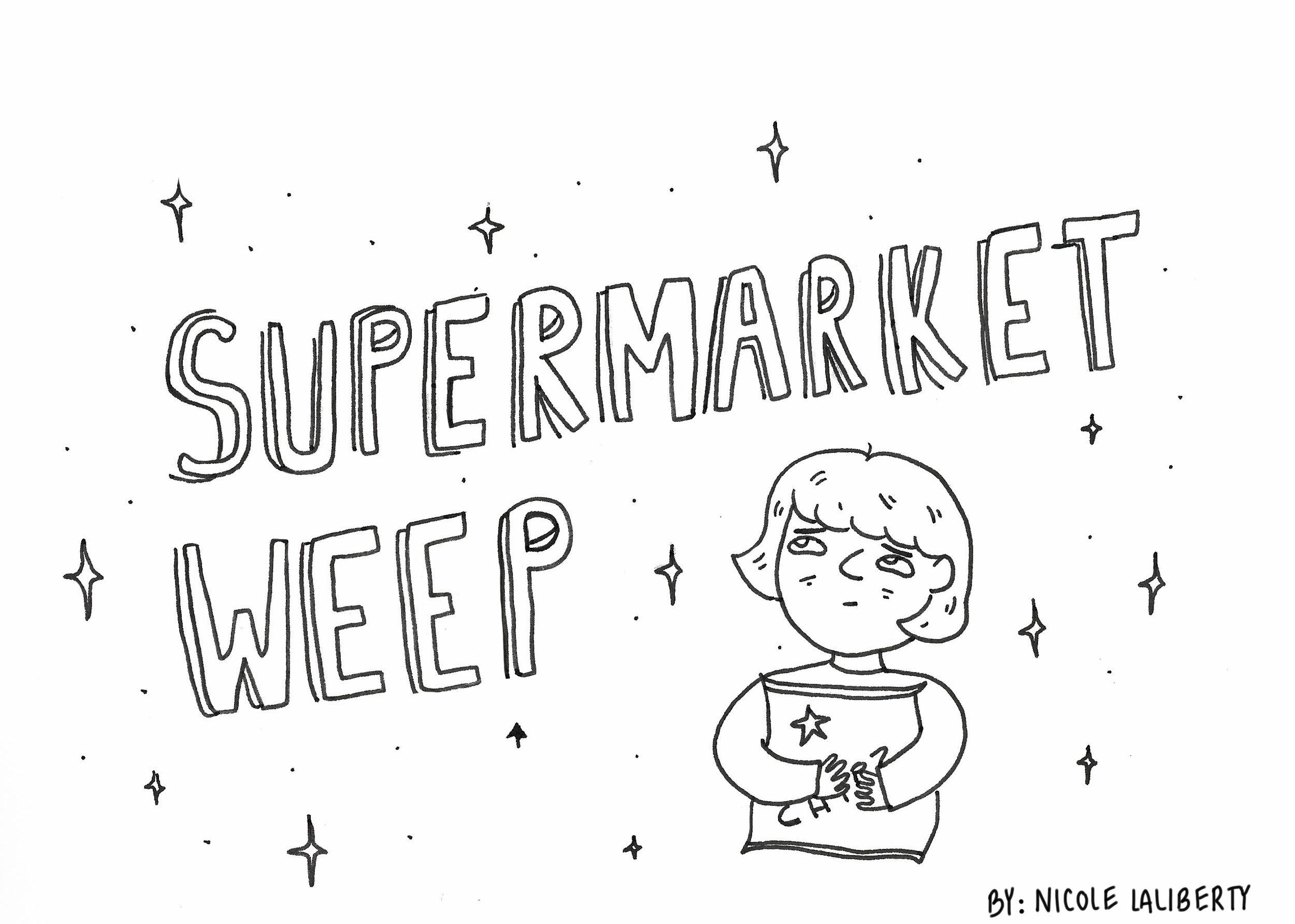 Supermarket Weep (Comic)