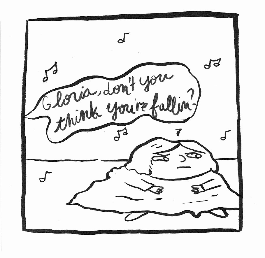 A comic about how much I love the song Gloria (click through)