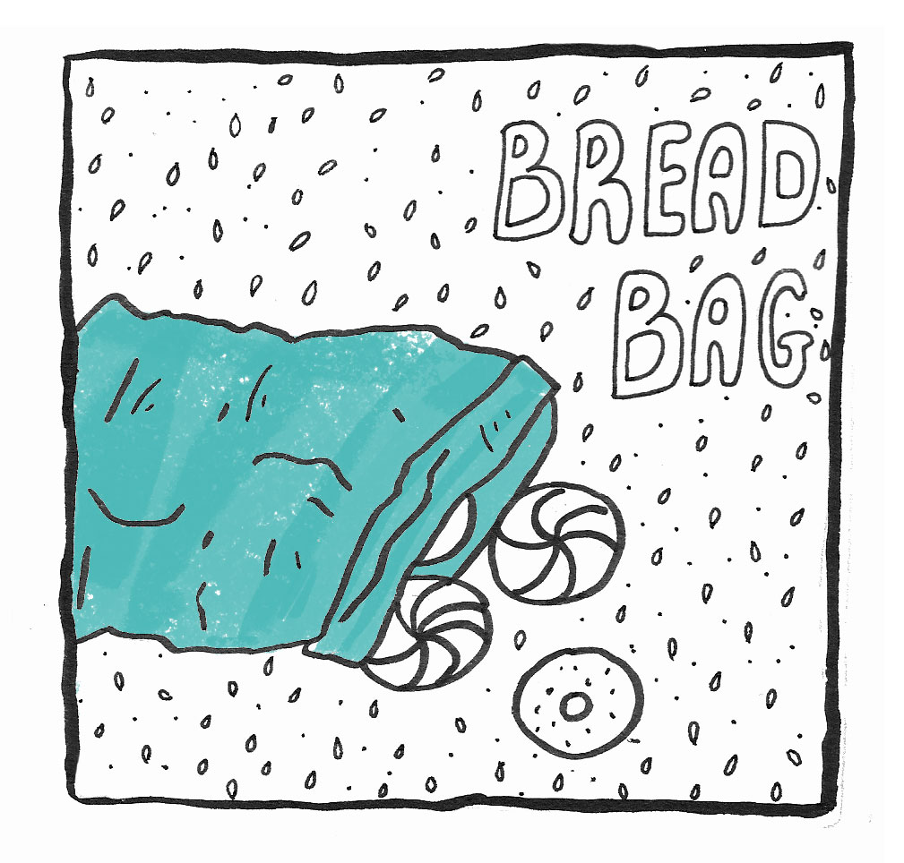 A comic about my love of bread and the strangeness of memory (click through)