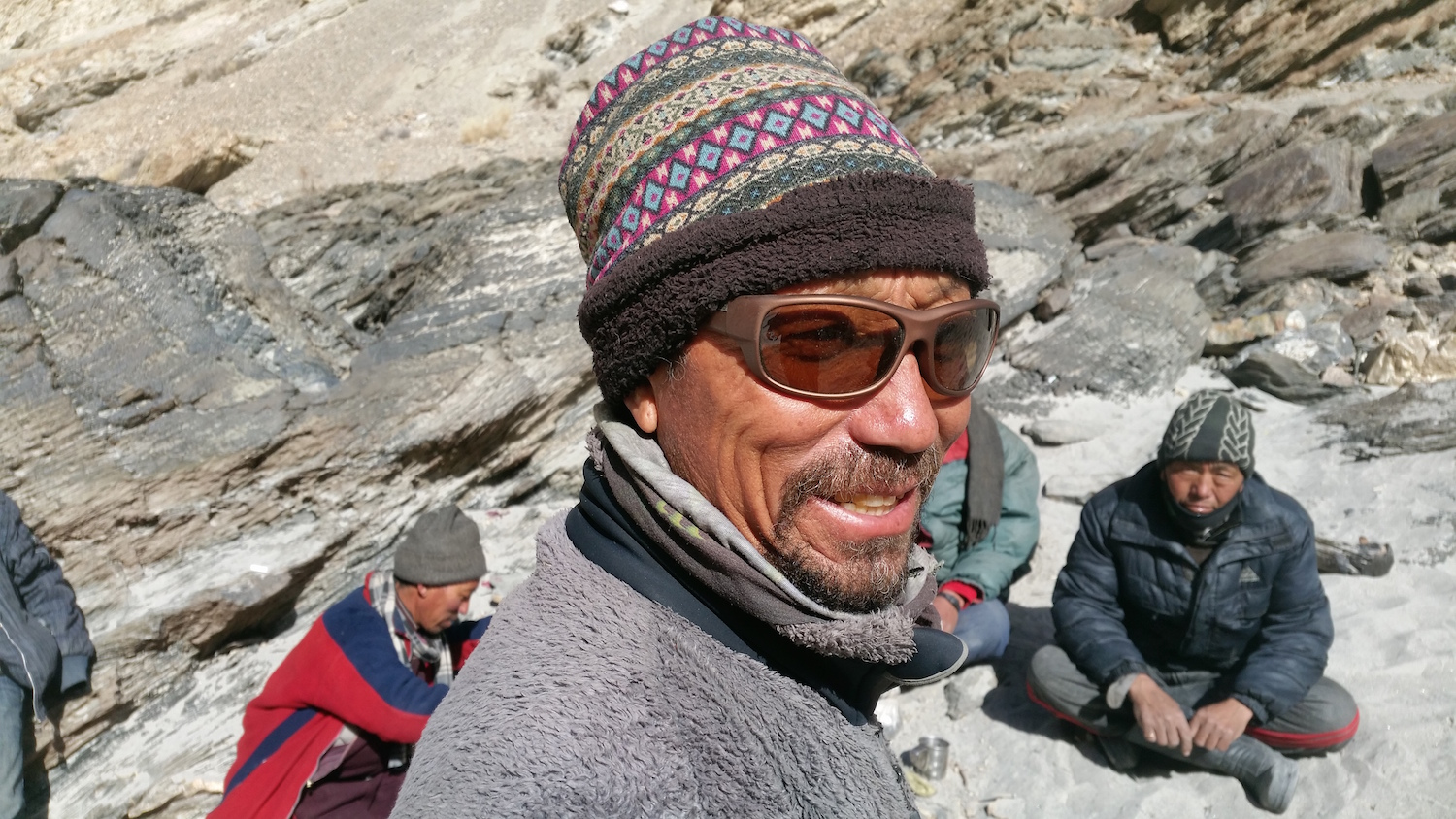 Hiking with Lobsang      much more than a trekking trip -