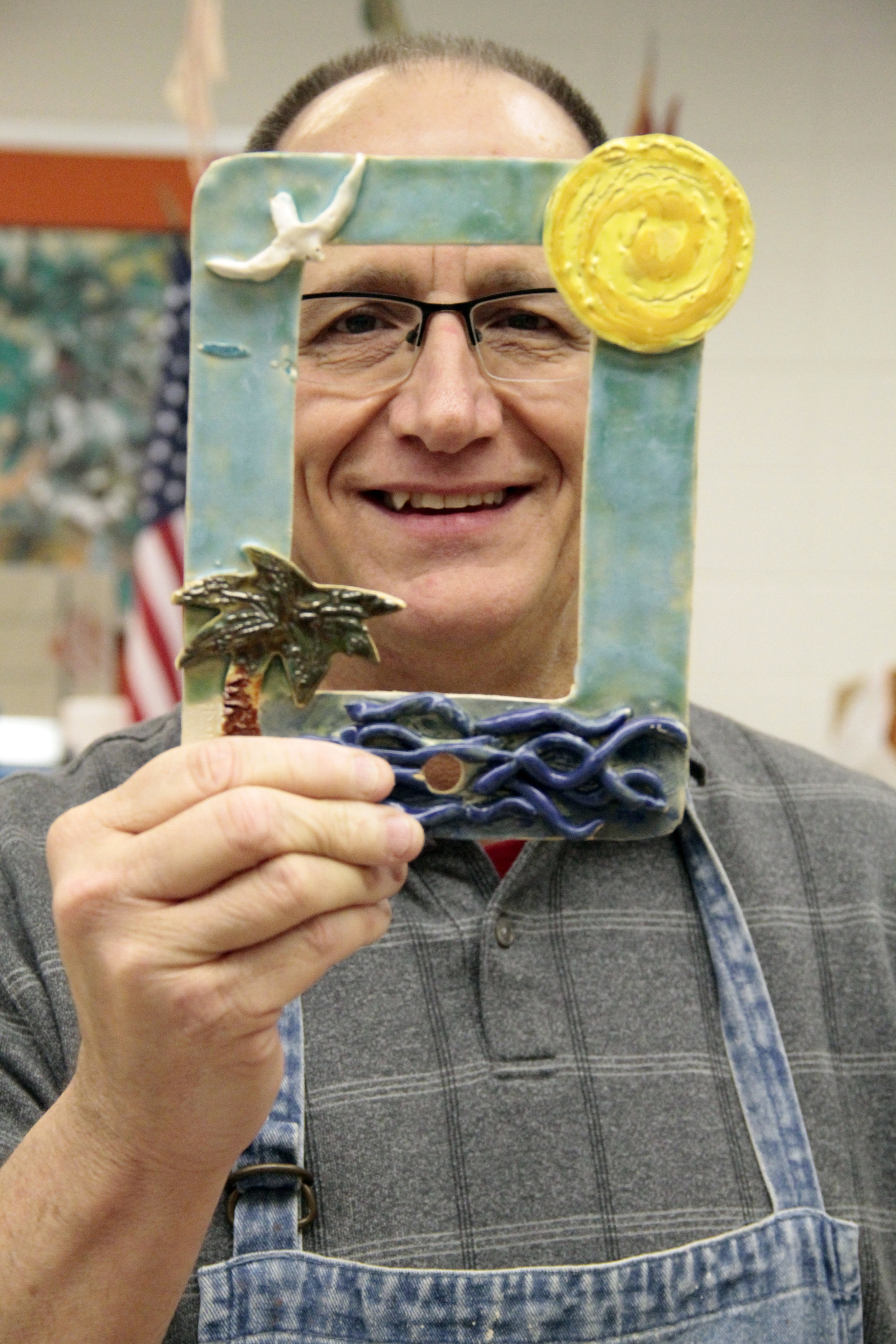 Joe Power is an art teacher at the Northwest Indiana Special Education Cooperative in Crown Point, Indiana.