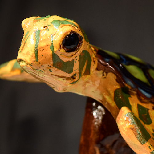 Honu (Sea Turtle) | Clay | Sculpture