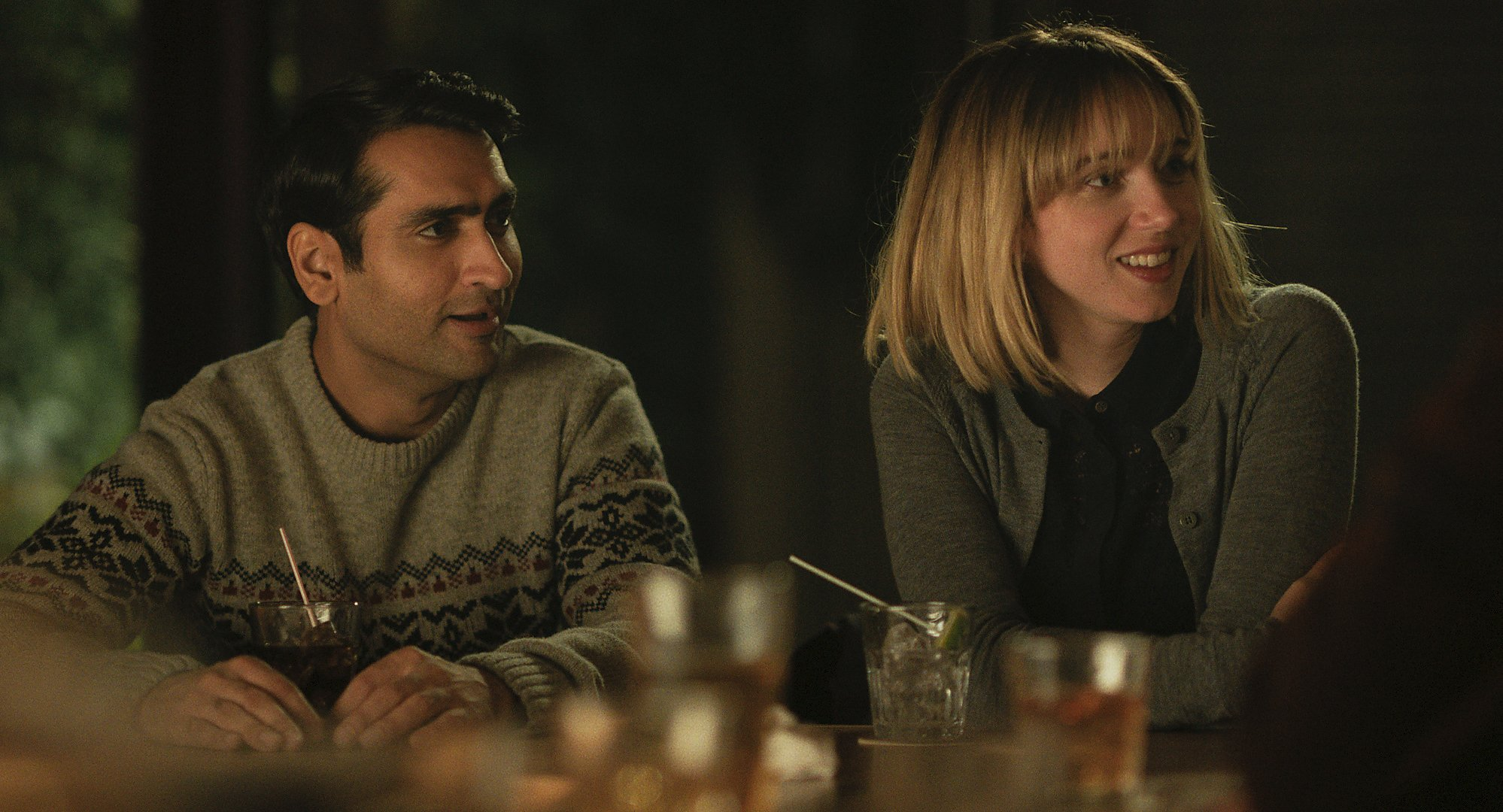 4. THE BIG SICK | Directed by Michael Showalter | Release Date: June 23, 2017    The Big Sick  remains a movie I want to show everyone I know.  Written by the husband and wife team of Kumail Nanjiani and Emily V. Gordon, the film documents their real-life story about dating, breaking up, and struggling with the reality of Emily's sudden and severe lung infection that forces her into a medically induced coma for a period of time. To the couple's credit, the film never panders to its audience, especially when Emily becomes sick. The film does such a wonderful job of setting up the world these two characters inhabit that we are on the journey right along with Kumail and Emily's family, who leave their home in North Carolina, to be with her in Chicago, trying to make up for lost time.  Witty, funny, endearing, bittersweet, honest and authentic. Initially, we are observers who then become invested in these characters and their lives. We bond with their struggles, challenges, and root for their wins and feel bad for their losses. The ensemble is wonderfully cast, Holly Hunter and Ray Romano, as Emily's parents, are terrific in the film's second half, Kazan shines in the first hour. Nanjiani steers us through both halves of the film, in a long overdue breakout performance.  Bottom line: I simply did not want to let these characters go when the movie ended.  The Big Sick  is a movie I'm going to love for a long, long time.