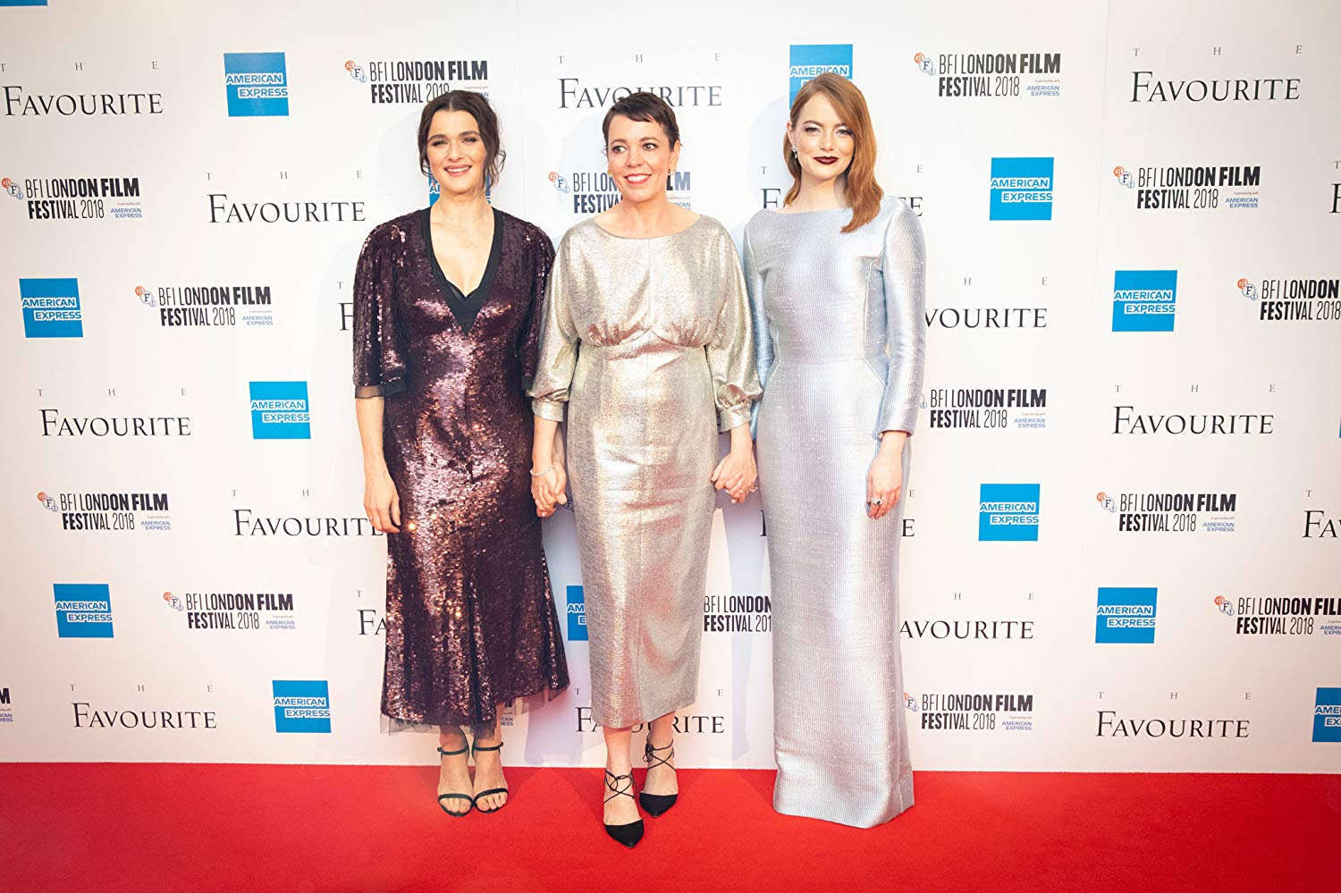 """7. OLIVIA COLMAN, EMMA STONE, RACHEL WEISZ 