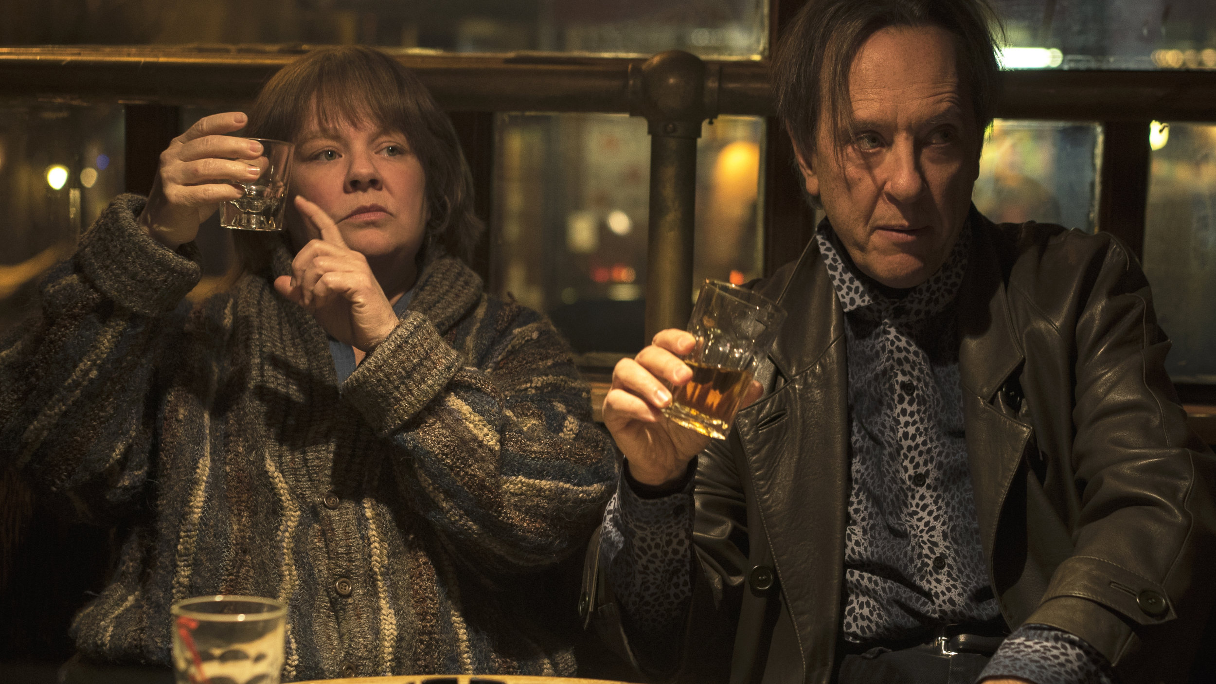 """16. MELISSA MCCARTHY, RICHARD E. GRANT 