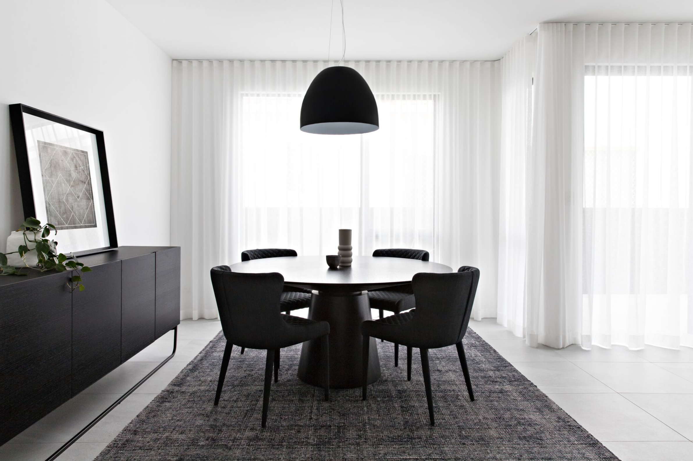 Melbourne Luxe Townhouse Dining Room