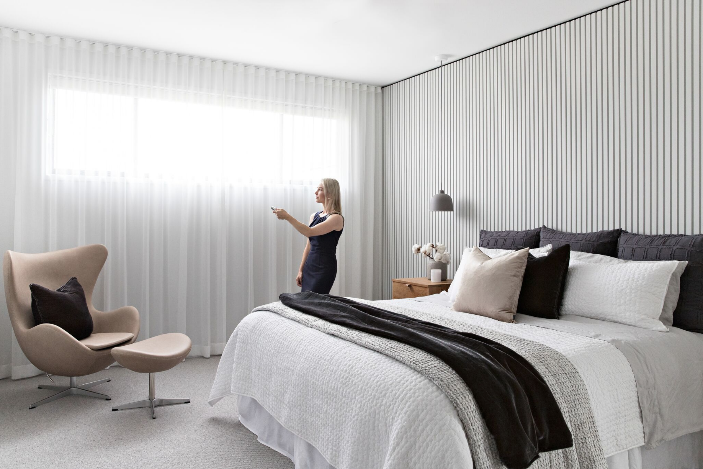 Scandi Townhouse Master Bedroom