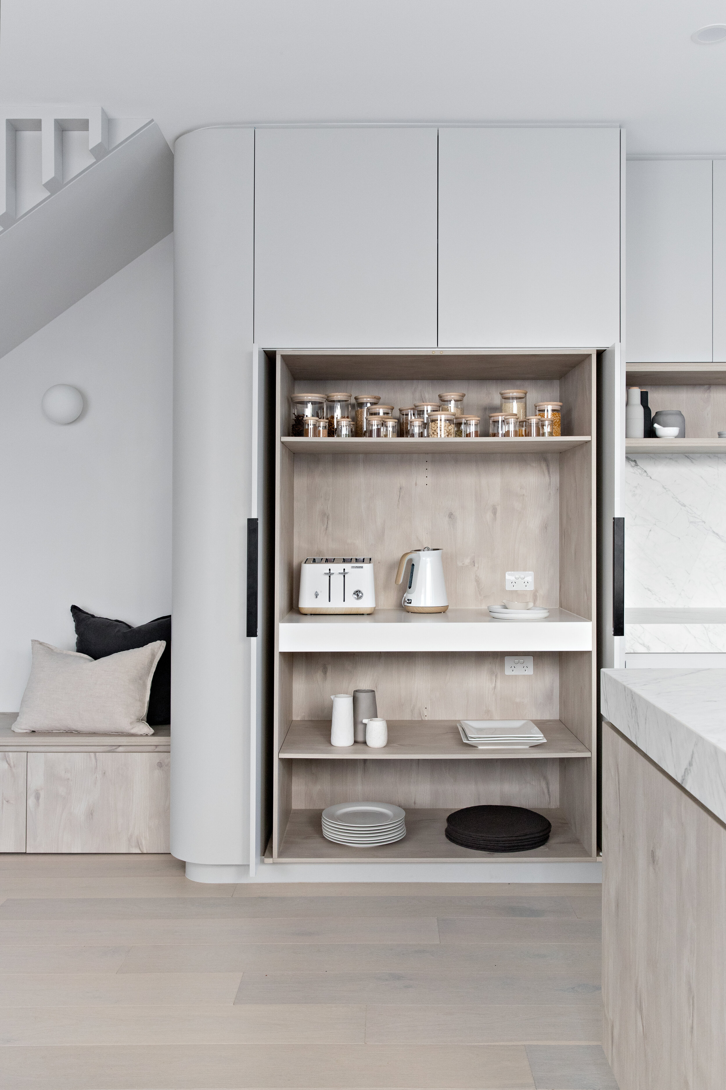 Zephyr and Stone • Scandi Micro Butler's Pantry