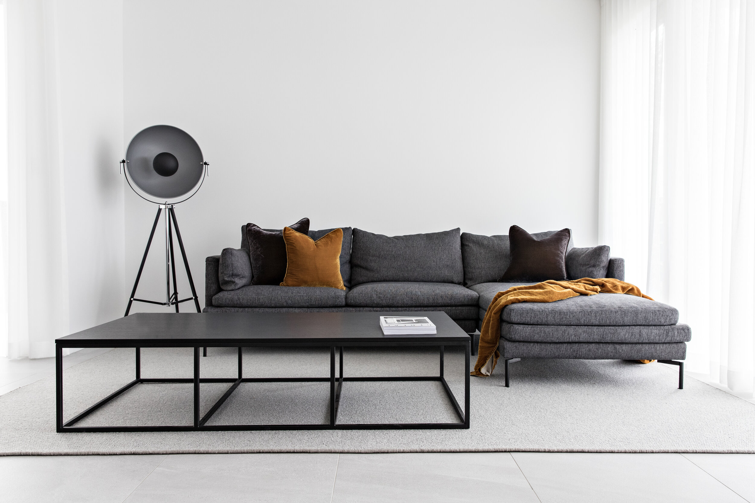 Zephyr and Stone • Melbourne Luxe Living Room