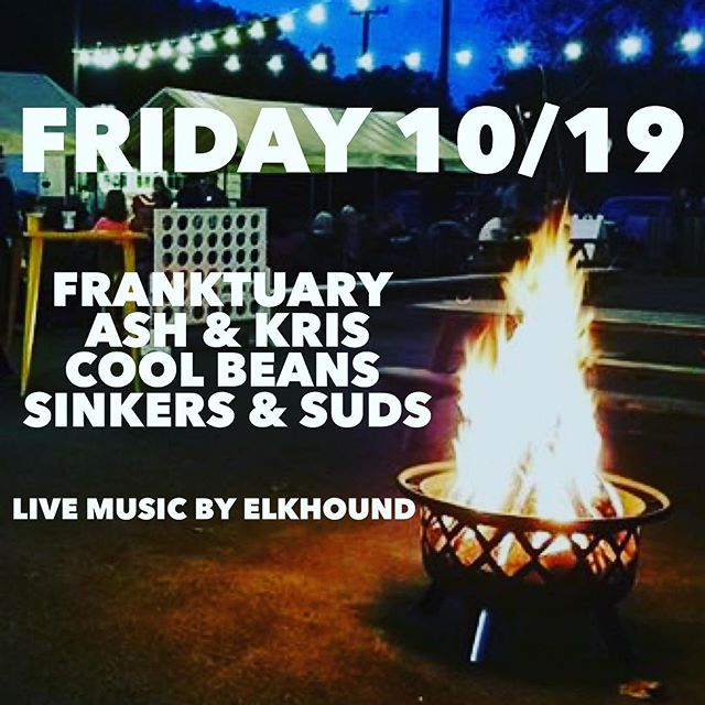 This weekend! Don't miss a fabulous fall Friday! Only 3 weeks left to enjoy the FoodTruck Park.  Local brews from: @levitybeer  Delicious eats from: @franktuary  @ashandkriskitchen  @coolbeanstacotruck_  @sinkersandsuds  Live music from: @elkhoundmusic  #fall #riverfront #pittsburgh #412 #foodtruck #livemusic #localcraftbeer
