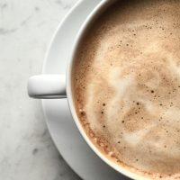 Malted Milk Latte Mocktail