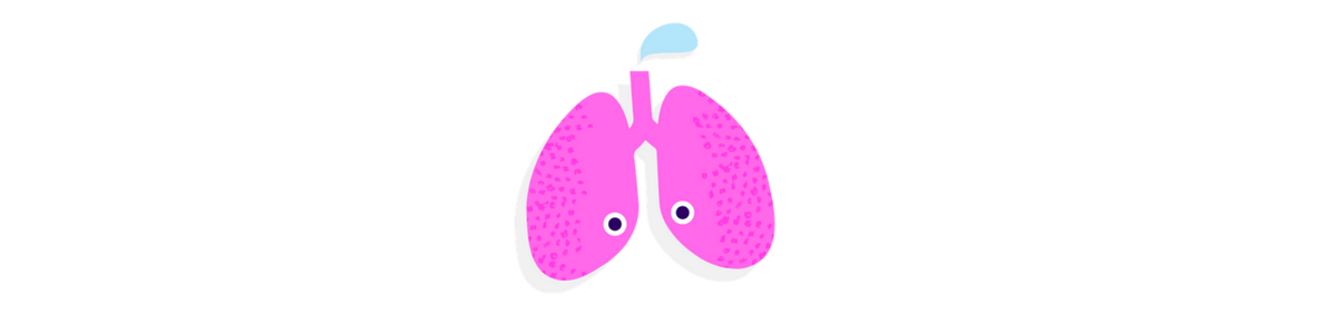 pink lungs illustration