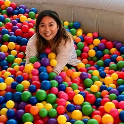 gloria in ball pit.jpg