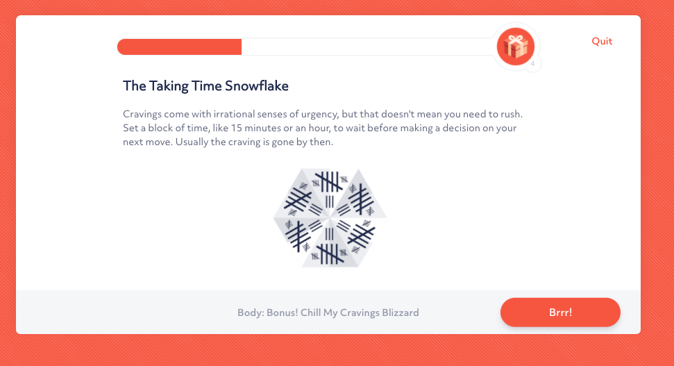 Workit exercises give you practical coping tools to help you live sober.
