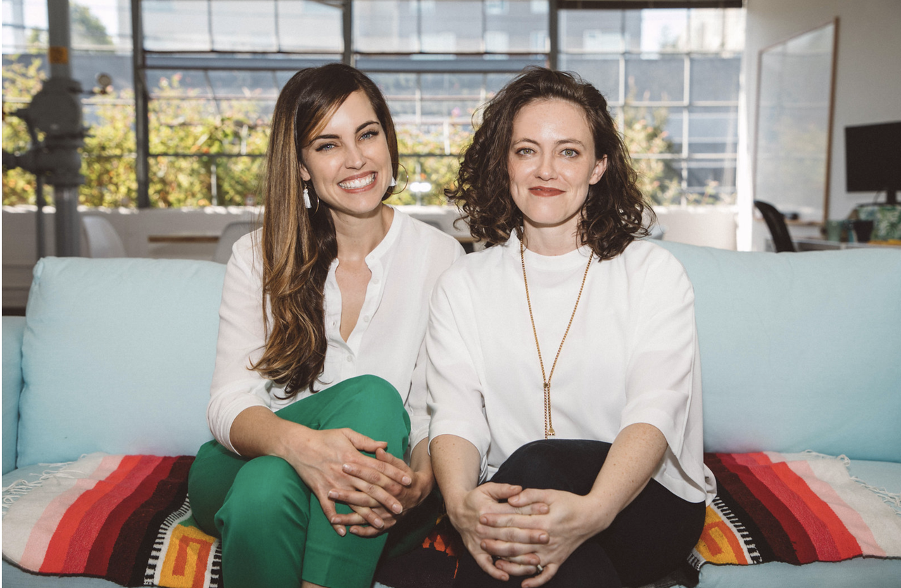 Robin and Lisa, Workit's Co-Founders.