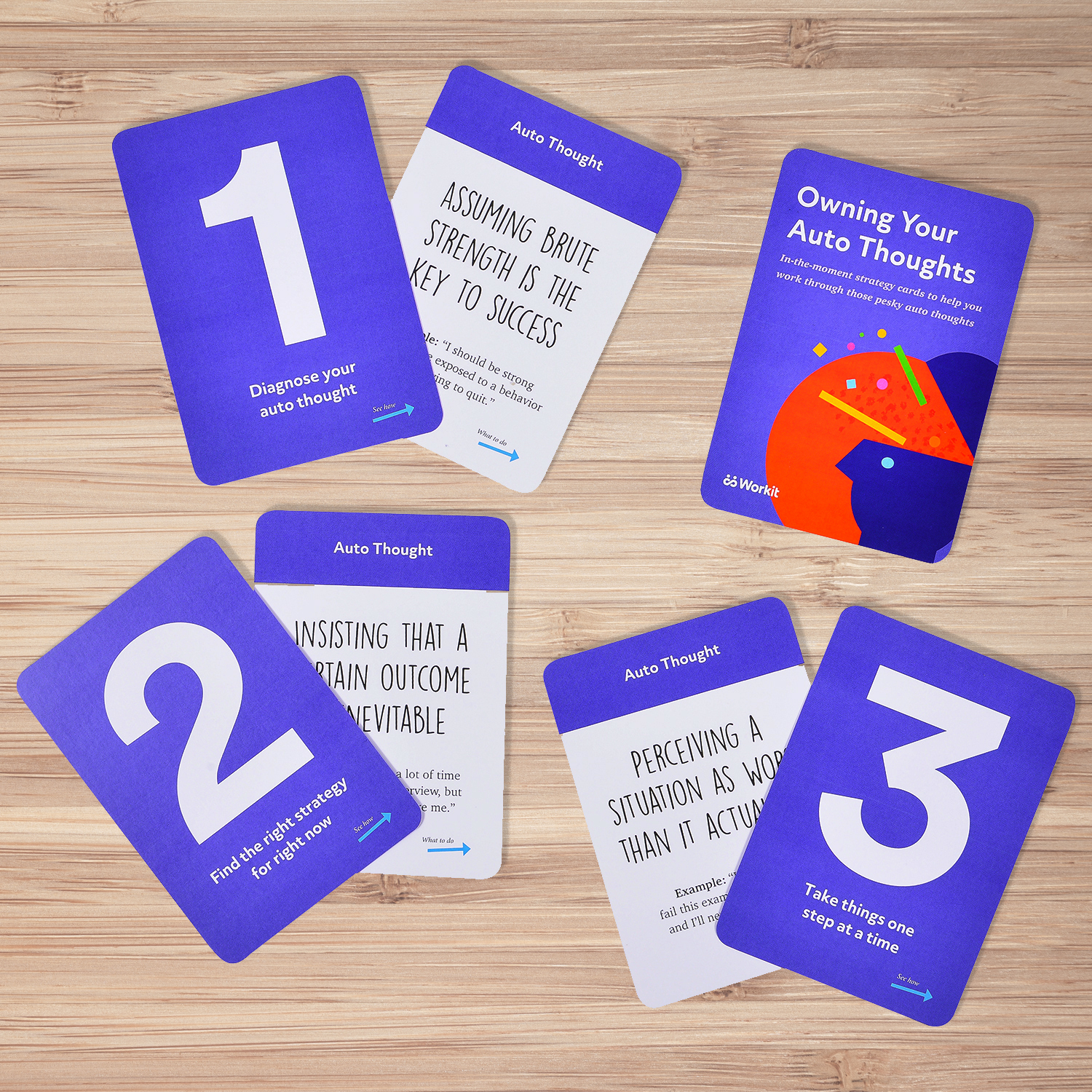 Workit's Owning Your Auto Thought Card Deck