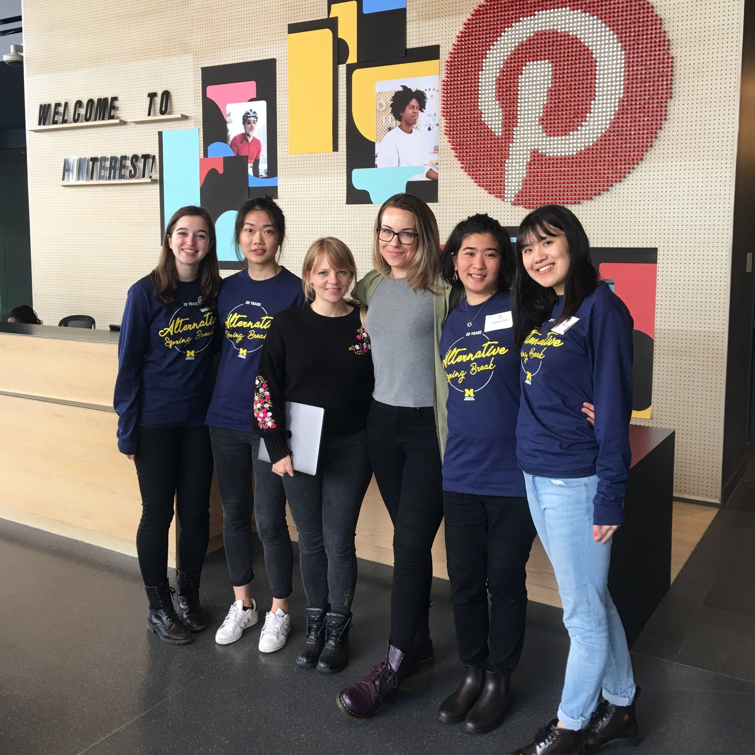 The ASB team at Pinterest.
