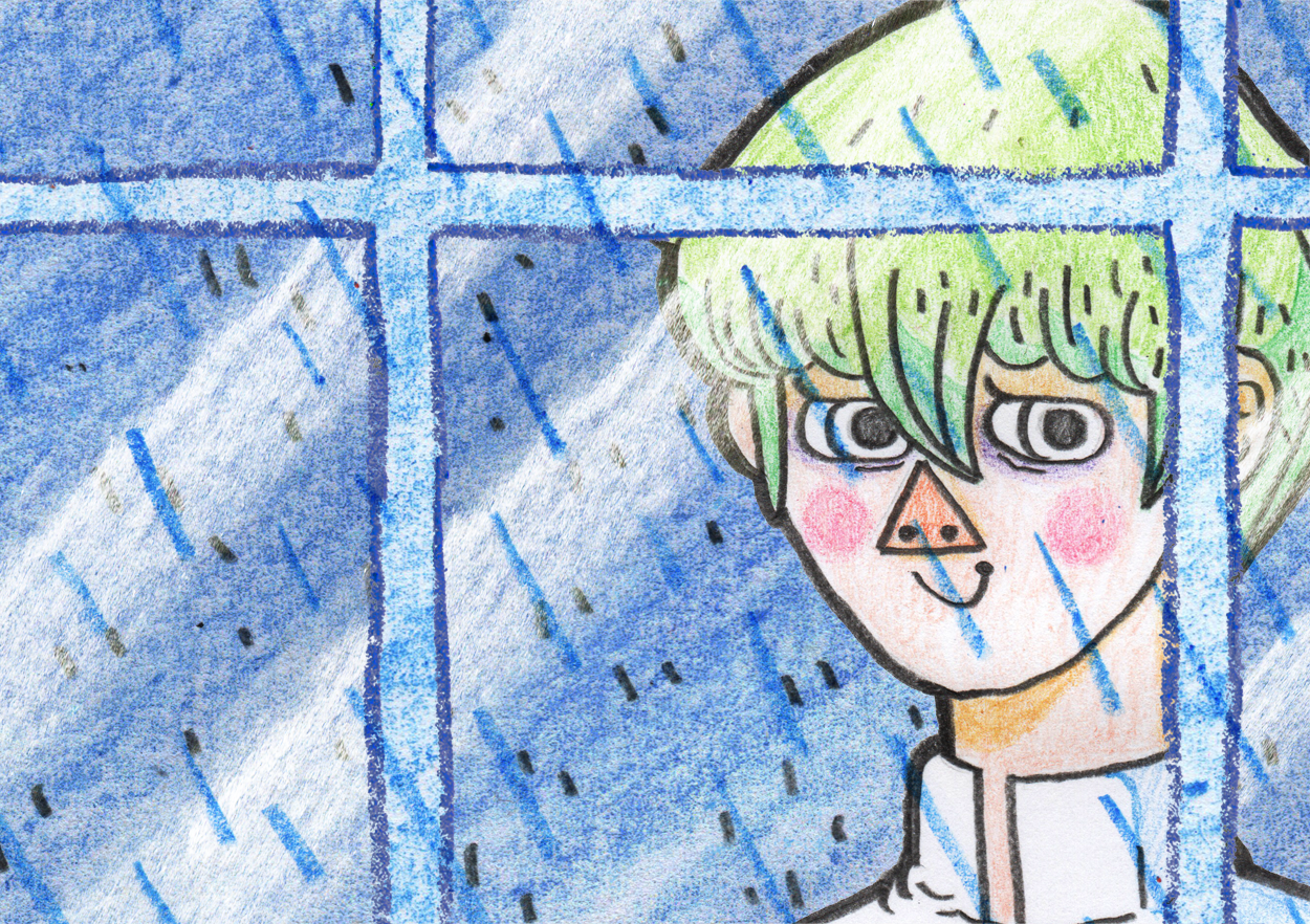 Portrait for the  It's Raining Kaiba flip book which can be seen  here .